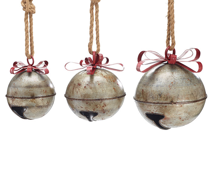 HANDMADE HOLIDAY RUSTIC JINGLE BELL SET