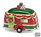 HOLIDAY ROAD CAMPER CERAMIC CONTAINER
