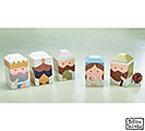 A KING IS BORN WOOD BLOCK NATIVITY SET