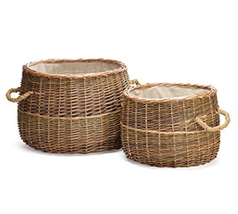 NESTED UNPEELED WILLOW BASKETS