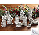 10 PIECE COLOR YOUR OWN NATIVITY SET