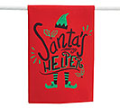 SANTA'S HELPER TEA TOWEL