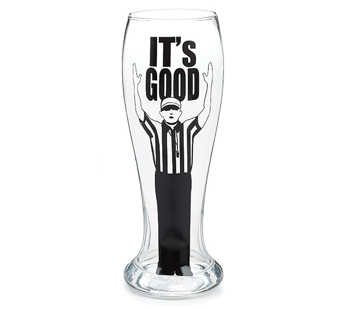IT'S GOOD/REFEREE PILSNER GLASS