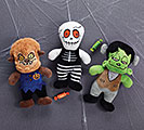 PLUSH GIDDY GHOULS HALLOWEEN TRIO