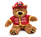YOU ARE SO HOT FIREMAN BEAR PLUSH