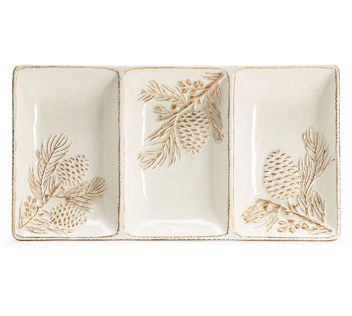 NATURALLY NOEL SECTION PLATE
