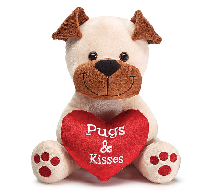 PLUSH PUGS AND KISSES PUPPY