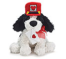 PLUSH VALENTINE MAIL PUPPY