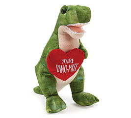 PLUSH YOU'RE DINO-MITE VALENTINE T-REX