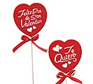 "12"" SPANISH VALENTINE MESSAGE PICK SET"