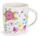 PINK ROSE BOUQUET MUG W/ GIFT CADDY 1st Alternate Image