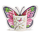 DOGWOOD BUTTERFLY MUG W/GIFT CADDY
