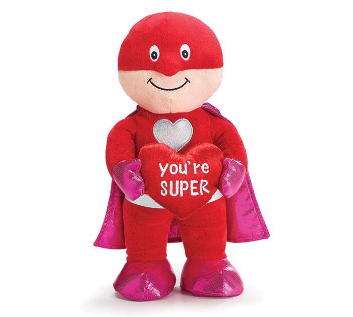 PLUSH YOU'RE SUPER SUPERHERO