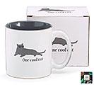 ONE COOL CAT CERAMIC MUG W/ BOX