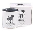 MY DOG IS COOLER CERAMIC MUG W/ BOX