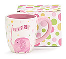 ZANY ZOODLES IT'S A GIRL CERAMIC MUG