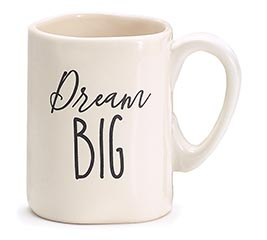 DREAM BIG CERAMIC MUG WITH BOX