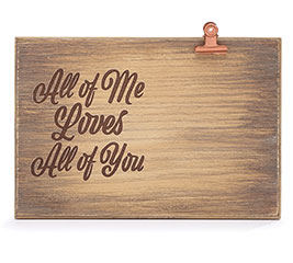 ALL OF ME NATURAL WOOD PICTURE HOLDER