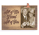 ALL OF ME NATURAL WOOD PICTURE HOLDER 1st Alternate Image