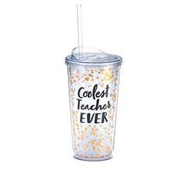 COOLEST TEACHER EVER TRAVEL CUP