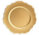 GOLD DECORATIVE CHARGER PLATE