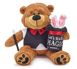 PLUSH LET'S MAKE MAGIC VALENTINE BEAR