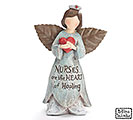 NURSES MESSAGE FAIRY ANGEL FIGURINE