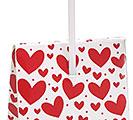 RED  WHITE VALENTINE CANDY BOX 1st Alternate Image