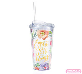 FLORAL INSPIRATIONS TRAVEL CUP