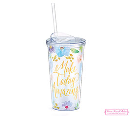 MAKE TODAY AMAZING TRAVEL CUP