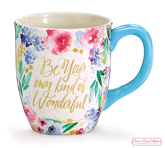 BE YOUR OWN KIND OF WONDERFUL MUG