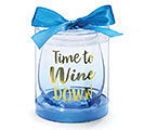 TIME TO WINE STEMLESS WINE GLASS SET 1st Alternate Image