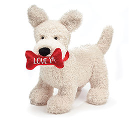 PLUSH LOVE YA VALENTINE PUPPY