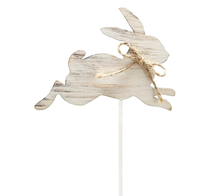 BUNNY SILHOUETTE WOOD PICK