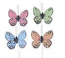SPRING COLORS BUTTERFLY PICK ASST
