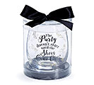 PARTY/SHOES STEMLESS WINE GLASS 1st Alternate Image