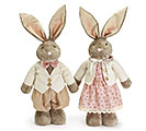 DECOR EXPANDABLE LEG BUNNY COUPLE 1st Alternate Image