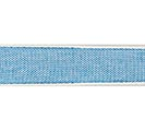 #3 BLUE LINEN RIBBON