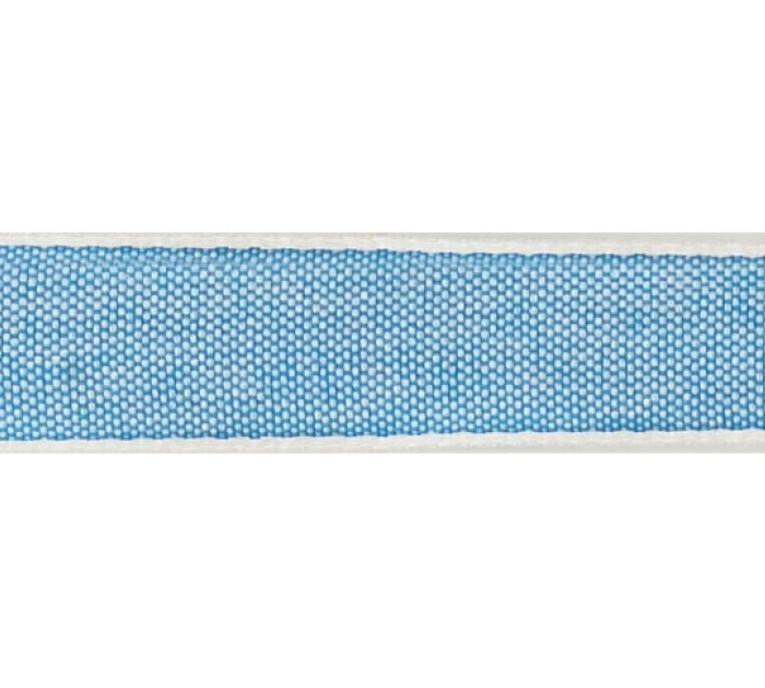 #3 BLUE LINEN RIBBON