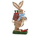 SISAL RABBIT WITH CARROT BASKET