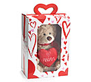 PLUSH ALWAYS VALENTINE BEAR IN BOX 1st Alternate Image