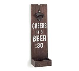 CHEERS IT'S BEER:30 WALL BOTTLE OPENER