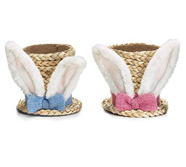 SEAGRASS BUNNY EARS TOPHAT POT COVER