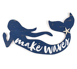 MAKIN' WAVES MERMAID WALL HANGING
