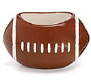 LARGE FOOTBALL BOWL/PLANTER
