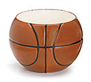 LARGE BASKETBALL CERAMIC PLANTER/BOWL