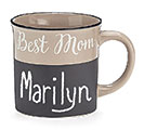 BEST MOM PORCELAIN CHALKBOARD MUG W/BOX 1st Alternate Image