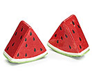 MELON PATCH CERAMIC SALT/PEPPER SET