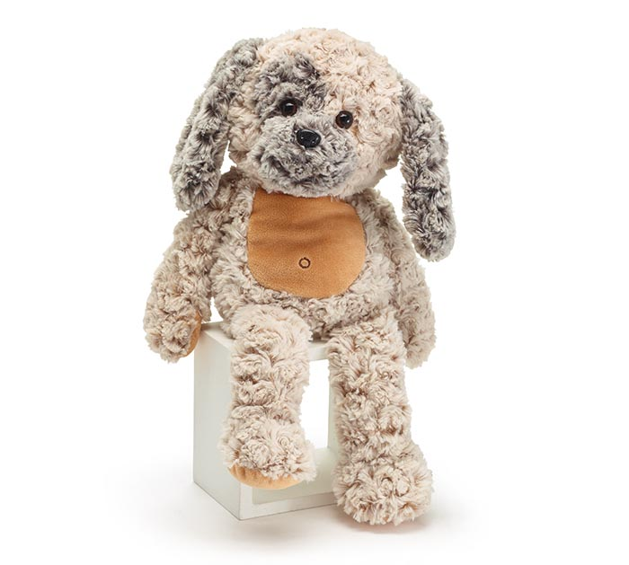"""PLUSH 17"""" CUDDLE PUPPY WITH CURLY FUR"""