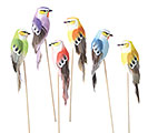 6 PIECE FOAM BIRD PICK SET